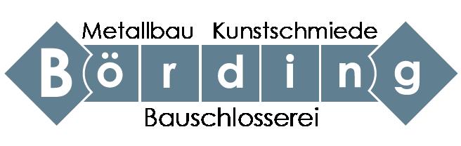 Logo Metallbau Börding Neuss